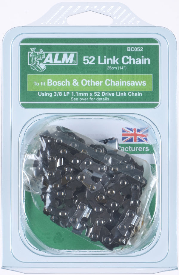 "Chainsaw Chain for 35cm (14"") bar with 52 Drive Links"