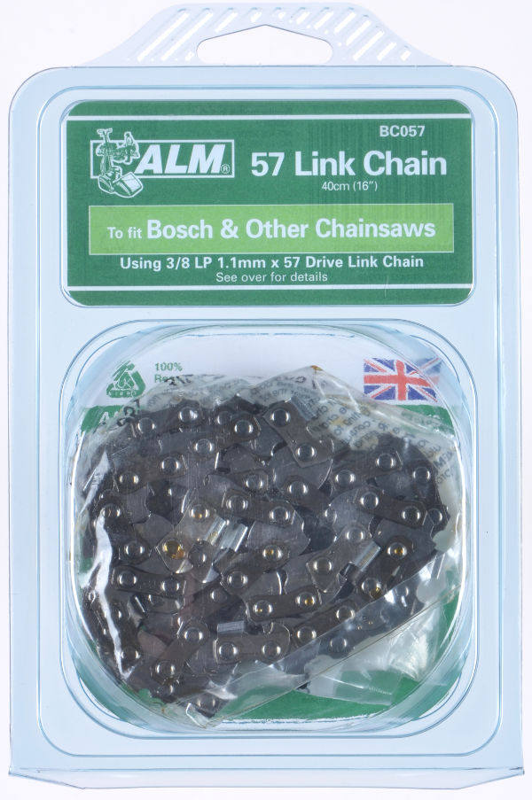 "Chainsaw Chain for 40cm (16"") bar with 57 Drive Links"