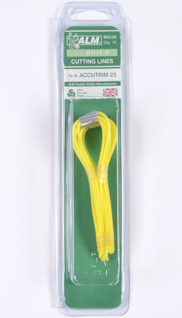 Heavy Duty Cutting Line 10 Pack for Bosch Accutrim 23
