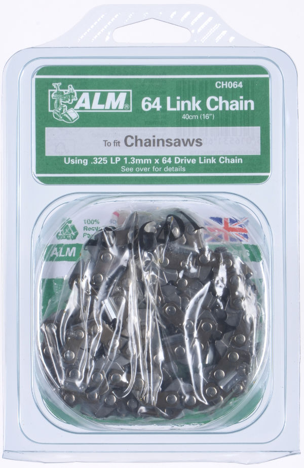 "Chainsaw Chain for 40cm (16"") bar - 64 Drive Links"
