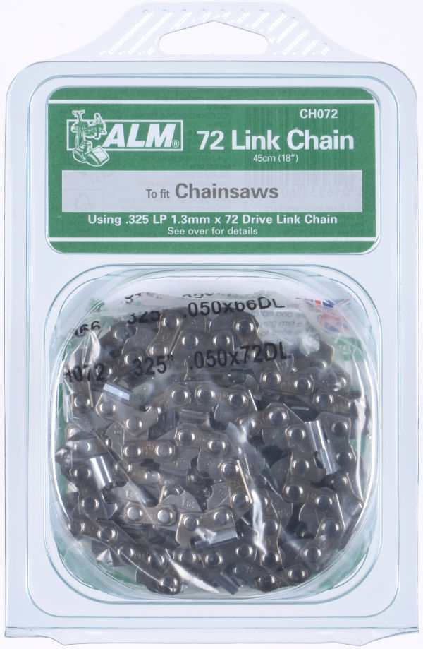 "Chainsaw Chain - 45cm (18"") 72 Drive Links, for Husqvarna & more"