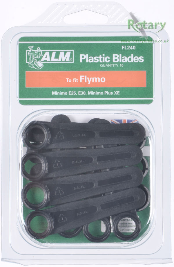 Plastic Blades for Flymo Mowers