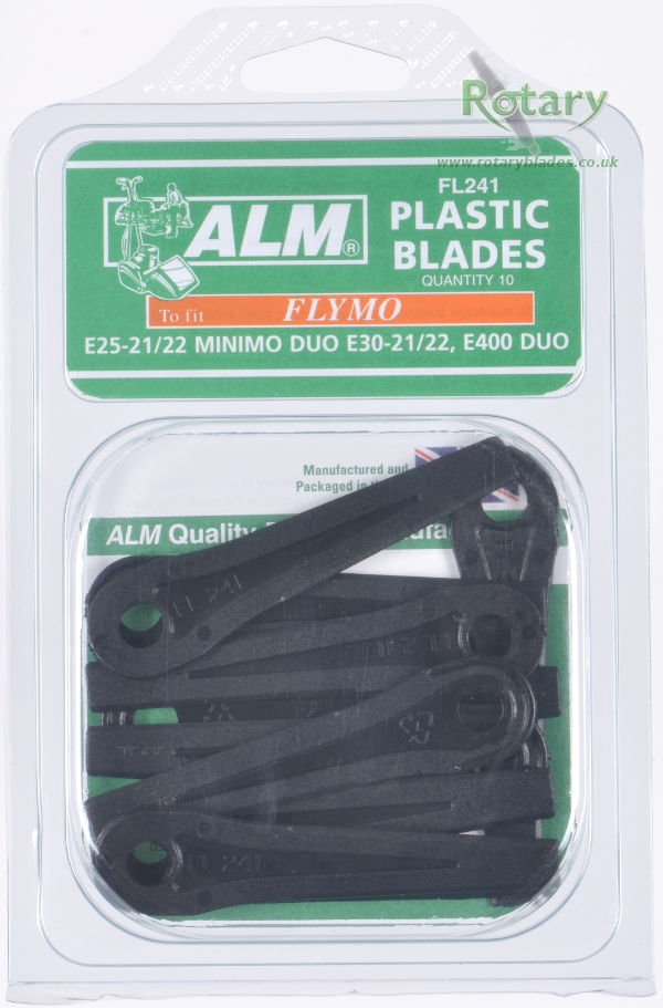 Plastic Blades for Flymo Duo & Minimo Models