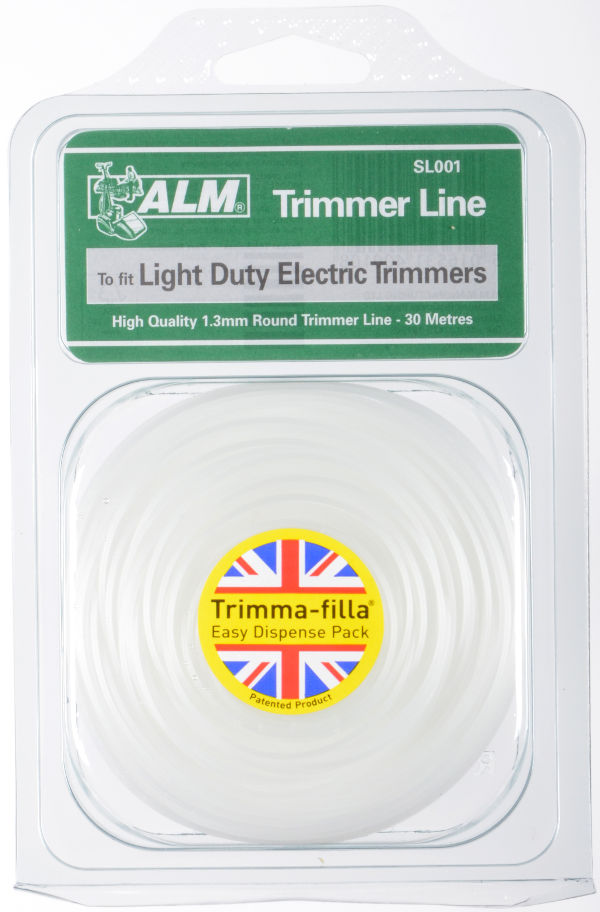 1.3mm x 30m - White Trimmer Line